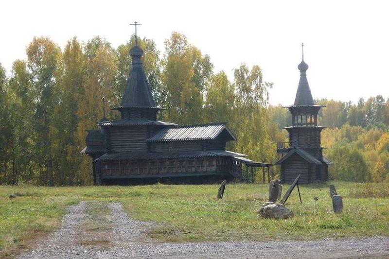 Церковь Спаса Нерукотворного из Зашиверска