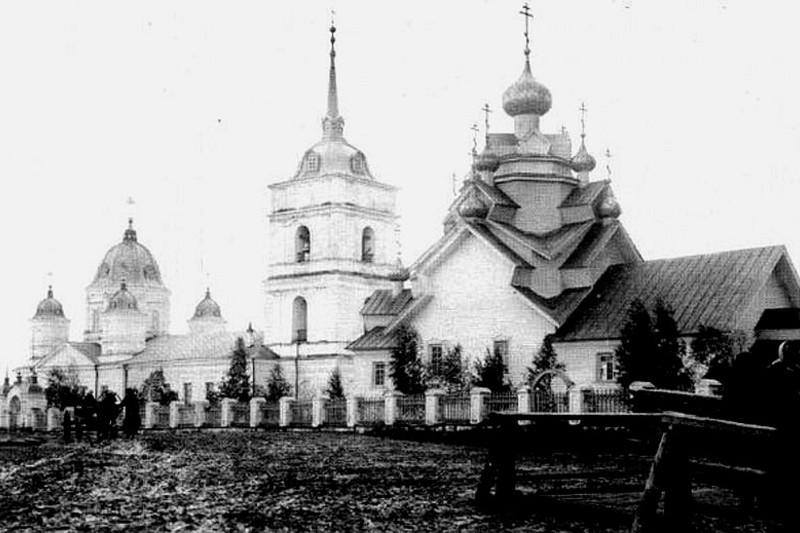 Церковь Николая Чудотворца в Оште