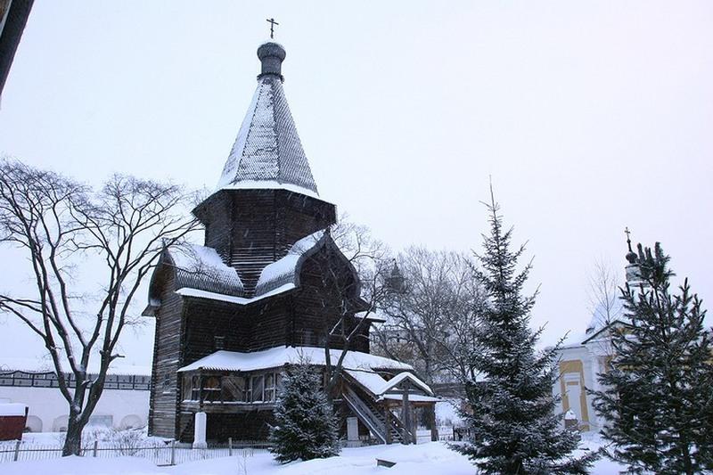 Церковь Успения Богородицы Александро-Куштского монастыря