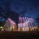 Открытие фонтана уДворца металлургов