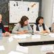 Делегация руководителей иучителей московских школ