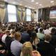 Торжественная линейка для первокурсников вЧереповецком металлургическом колледже