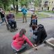 Приемка двора сучастием инвалидов
