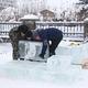 Конкурс ледовых скульптур