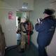 Учения пожарных вобластной больнице №2