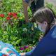 Высадка цветов удетской горбольницы