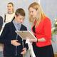 Награждение талантливых школьников