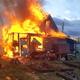 Пожар навосьмой линии. Фото: МЧС