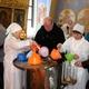 Вхрамах Череповца начали раздавать крещенскую воду