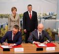 ВЧереповце подписали контракт настроительство второго моста через Шексну