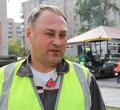 ВЧереповце неизвестные закидали дорожников мусором изокон