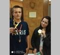 Череповчане привезли золото исеребро сВсемирных детских игр победителей