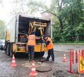 Бригады «Водоканала» работают вусиленном режиме для устранения потопов