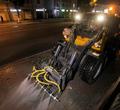 ВЧереповце эксперимент смытьем тротуаров шампунем признали успешным