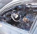 Череповчанин сжег автомобиль, водитель которого непропустил его напереходе