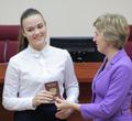 ВЧереповце подросткам торжественно вручили паспорта