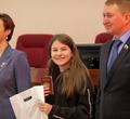 ВЧереповце вчесть Дня защитника Отечества 15 школьников получили паспорта вмэрии