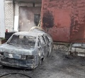 ВЧереповце из-за курения впьяном виде сгорел автомобиль ипострадал человек