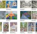 Детская художественная школа открыла онлайн-выставку «Соляной сад»