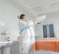 20 тысяч защитных костюмов передала «Северсталь» моногоспиталю Череповца
