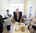 Вмоногоспитале наЛомоносова показали, чем кормят коронавирусных больных