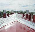 «Текло допервого этажа»: наЛенина, 115 закончили капремонт кровли