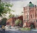 Череповецкие художники изобразили город доипосле карантина