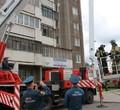 Пожарные провели учения ввысотке наДанилова