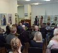 ВЧереповце открылась выставка преподавателя училища искусств Ирины Гуляйкиной