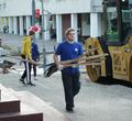 Впарке музея Верещагиных прошел первый после реконструкции субботник