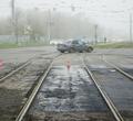 Наперекрестке Сталеваров иПобеды отремонтируют переезд через трамвайные пути