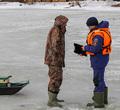 ВЧереповце рыбаков будут штрафовать завыход налед