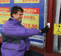 ВЧереповце вТЦ «Юбилейный» после жалобы заодин день установили кнопку для инвалидов