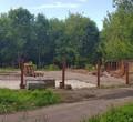 Впарке 200-летия Череповца демонтировали остатки кафе «Фишка»