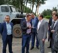 Председатель правительства Вологодчины проверил ход реконструкции улицы Архангельской