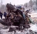 ВБабушкинском районе поезд протаранил лесовоз напереезде