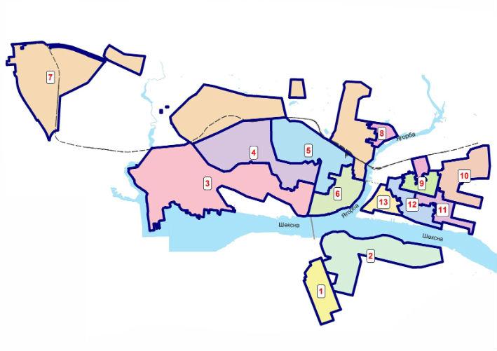 избирательных округов