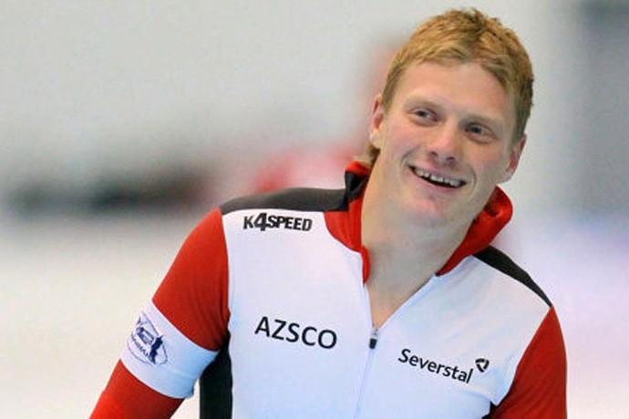 Артём Кузнецов — один из сильнейших конькобежцев Вологодской области