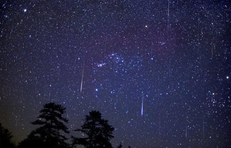 Уфимцы смогут наблюдать метеорный поток вночь на12августа