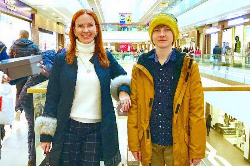 Вадим Багулин с мамой незадолго до трагедии