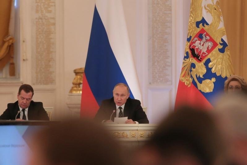 Путин назвал десять наилучших регионовРФ попривлечению вложений денег