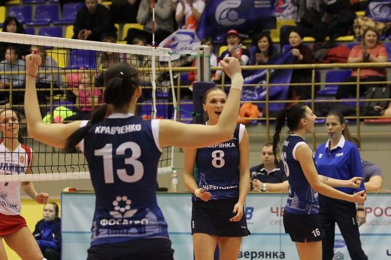 Череповецкая «Северянка» начала год стриумфа, одержав две победы подряд