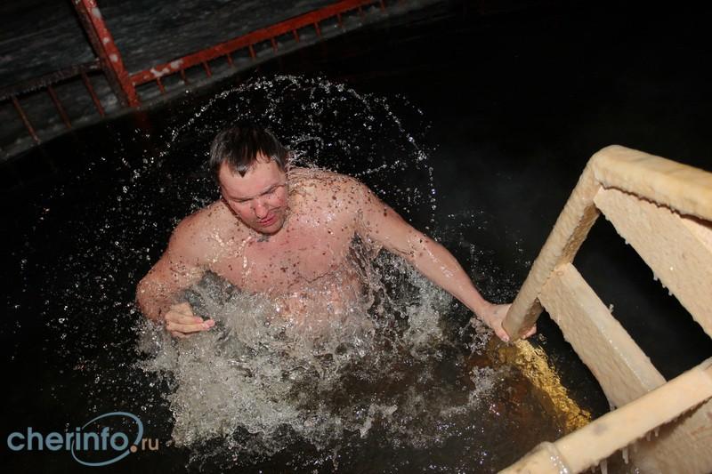 ВЧереповце стартовали крещенские купания