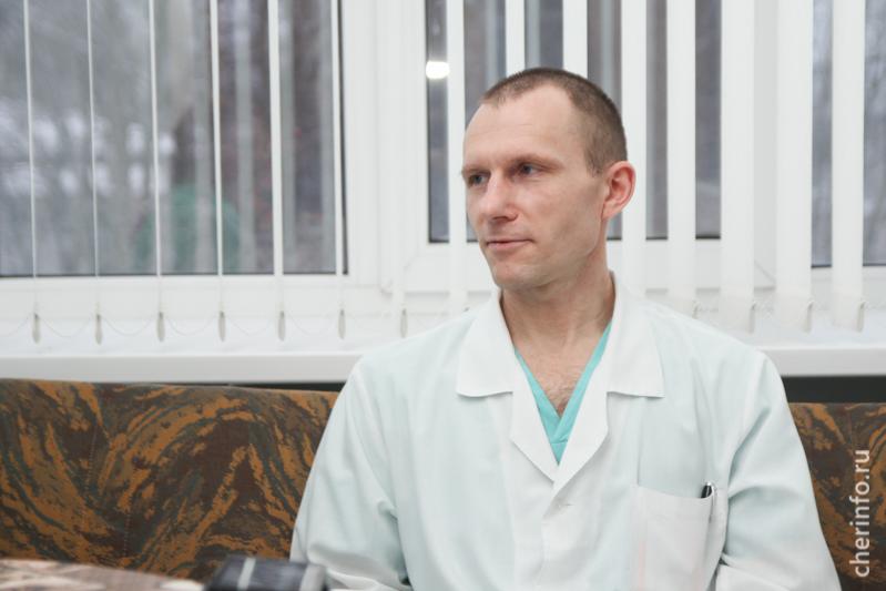 Врач-онколог Михаил Соловьёв