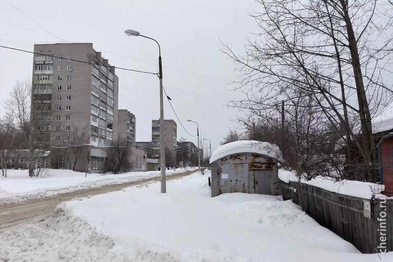 Гаражи на Архангельской