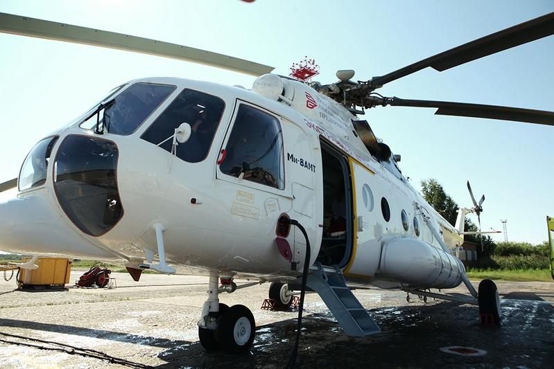 1-ый вертолет санавиации приступил кработе наВологодчине