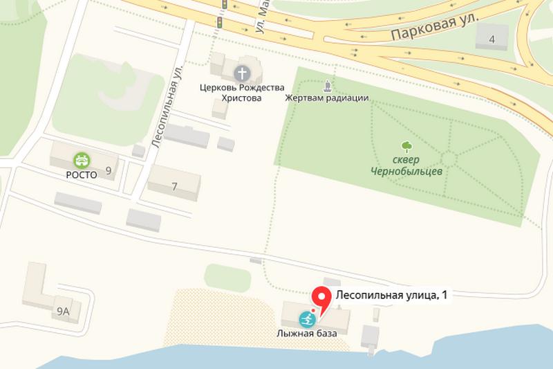 Улица Лесопильная