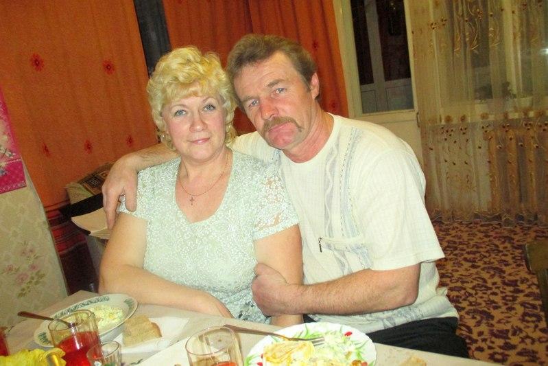 Николай Турзаков с женой Тамарой