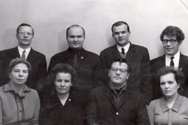 Состав Череповецкого городского народного суда, 1970 год