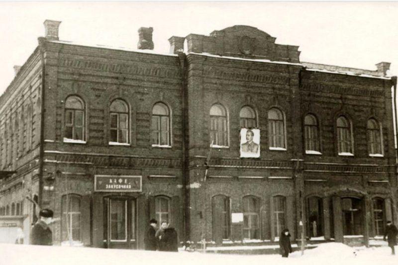 Здание на Советском, 49, где в советское время находилась прокуратура и коллегия адвокатов
